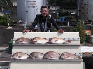 7月27日 大阪 秋山氏 タイ 40-55? 7匹 (センカイカセ) (1024x764)