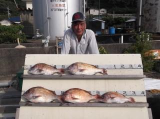 8月2日 大阪 米田氏 タイ 40-55? 5匹 (センカイカセ) (1024x764)
