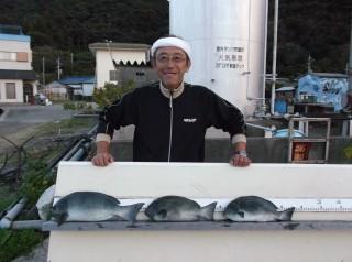 11月18日 大阪 兼崎氏 グレ 35-45?  3匹 (センカイ奥) (1024x764)