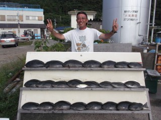 6月24日 大阪 兼崎氏 グレ 40-47? 23匹 (センカイ奥) (1024x764)