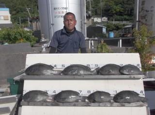 6月8日 丹波 四方氏 グレ 40-49㎝ (センカイ奥) (1024x764)