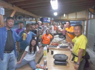 7月19日 大島フィッシング、ダイブアイランドのBBQ大会 (1024x764)