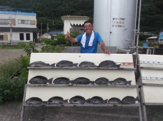 7月13日 大阪 兼崎氏 グレ 35-48? 15匹 (センカイ奥) (1024x764)
