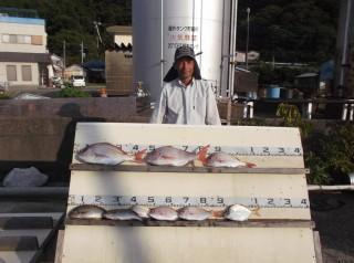 9月17日 奈良 新田氏 タイ 30-50? 3匹 イサギ、チャリコ (センカイカセ) (1024x764)
