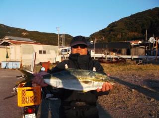 11月15日 南部  上野氏 メジロ 70? (センカイ中)一匹大きいの、たまでかくときにバラシました。 (1024x764)
