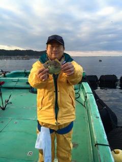 11月28日 大阪 西田氏他 カワハギ 約35匹 (カワギ船) (5)
