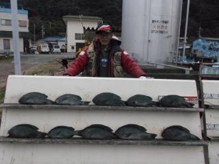12月16日 大阪 高田氏氏 グレ 30-45㎝ 10匹 (センカイ奥)